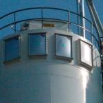 paneles de venteo en silo